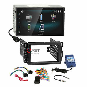 Kenwood Bt Android Phonelink Stereo Dash Kit Swc Steering Harness For Gmc Chevy