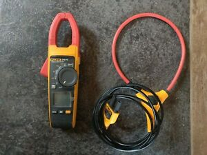 Fluke 376 Fc True rms Ac dc Clamp Meter Fully Tested Screen Protector Iflex
