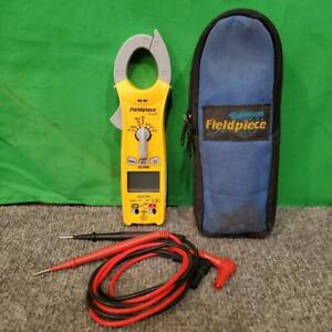 Fieldpiece Sc260 Compact Clamp Meter True Rms With Red Black Leads ss2045673