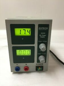 Digital Single Output Dc Power Supply Extech 382200 W power Cord