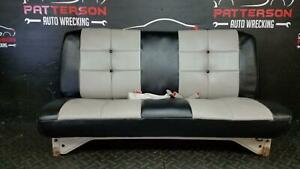 1991 Chevy Pickup 1500 Front Bench Seat Reupholstered Vinyl