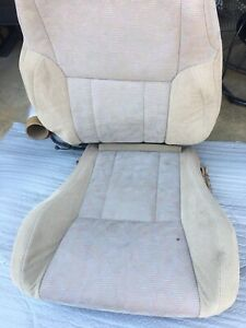 1994 2002 Toyota 4runner Upper And Bottom Seat Covers Tan Driver Left Oem