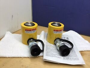 Enerpac Rcs 101 Hydraulic Cylinder 10 Tons 1 1 2in Stroke New