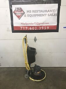 Nss Mustang 175 Floor Buffer tested And Working