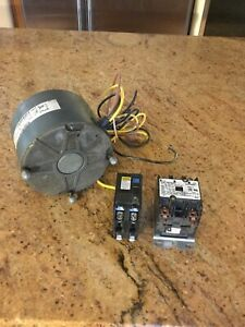 Condenser Fan Motor For Central A c Units 1 4 Hp 1100 Rpm 1 Speed 5 6 208 230v