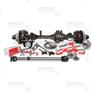 Dana Spicer Front L R Chromoly Axle Shaft Kit Dana 30 With Fad Removal