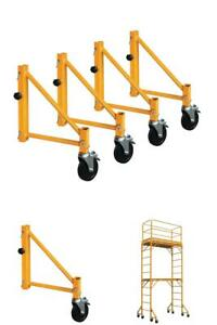 Outrigger Set Adjustable Weather Resistant Steel Scaffolding Parts Accessories