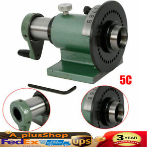 5c Precision Spin Index Fixture Collet For Milling New Usa Stock
