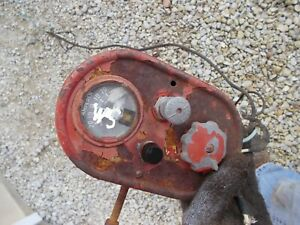 Farmall Super M Sm Tractor Ih Amp Guage Box Light Switch Wire Harness