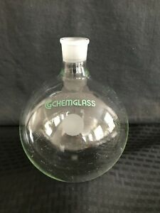 Chemglass 2000ml Heavy Wall Round Bottom Flask 29 26 Joint Cg 1506 67 Chipped
