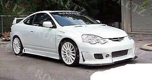 02 04 Acura Rsx Bc2 Style Front Body Kit Bumper
