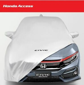16 17 18 19 2020 Honda Civic Fk Hatchback Car Covers Full Body Genuine belt Pad