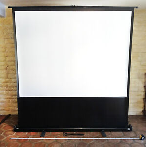 Da lite 87063 Deluxe Insta theater Portable Projection Screen 60x80 100 d Ntsc