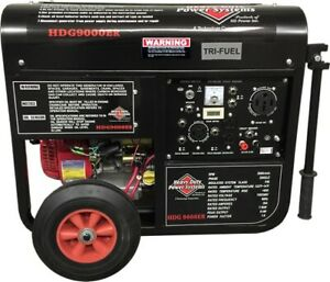 Tri fuel Generator Power Your Whole House Hdg9000er
