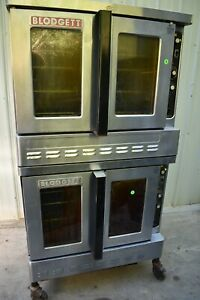 Blodgett Dfg 100 Double Stack Natural Gas Convection Oven
