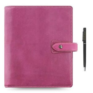 Filofax Malden Leather Organizer Agenda 2020 Calendar Bundle With Diloro Ball