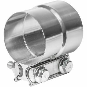 Totalflow Tf j58 Lap Joint Exhaust Muffler Clamp Band 2 5 Inch