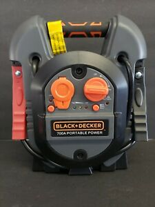 Black Decker Portable Power Jump It 300 Amp 700 Peak Jump Starter