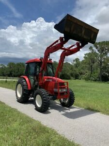 Branson 4wd 65hp Tractor W cab And Loader