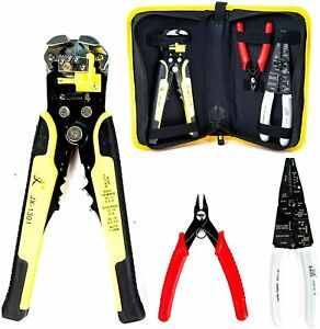 Kotto Wire Stripper Crimping Tool Kit 8 Inch Self adjusting Wire Stripper And
