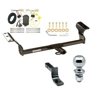 Trailer Hitch For 09 13 Matrix 09 10 Vibe Exc Gt Complete Pgk W Wiring 2 Ball
