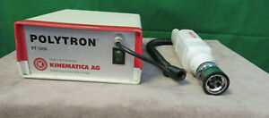 Kinematica Ag Polytron Pt 1200 Handheld Homogenizer W power Supply Pt 1200c