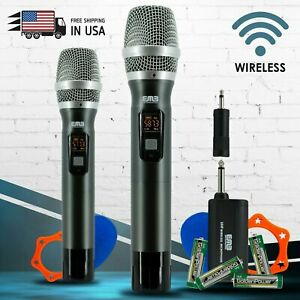 EMB M42W UHF Wireless Handheld Microphone System with Rechargeable Receiver NEW $49.99