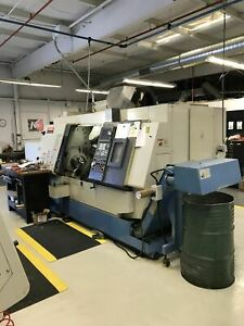 Mazak Integrex 200sy Cnc Lathe 2001 Bar Feeder Parts Catcher Sub Spindle