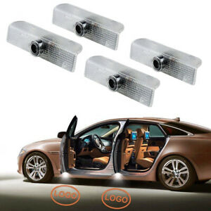 Pack Of 4 Car Door Logo Projector Lights Welcome Lights Replacement Assembly