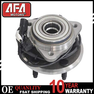 Front Wheel Hub Bearing For 2001 2003 2004 2005 Ford Explorer Sport Trac 4x4 4wd