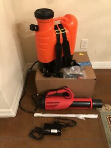 Electrostatic Backpack Disinfectant Sprayer Don t Wait 4 Months For A Victory