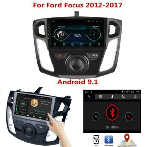 For Ford Focus 12 17 9 Android9 1 Car Radio Wifi 3g 4g Bt Fm Gps Player Ma2352