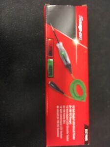 New Snap On Green Digital Lcd Circuit Tester 6 12 Volt Eect400g