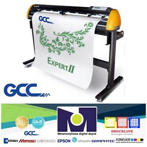 Gcc Expert Ii 52 Vinyl Cutter For Sign And Htv 52 free Shipping