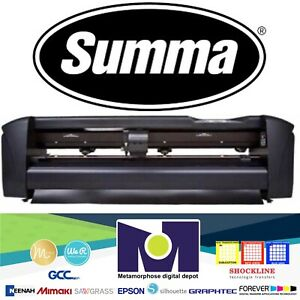Summa 24 61 Cms Vinyl Cutter Plotter Sign Cutting Machine W software