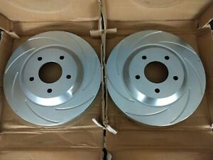 Nos Ssbc Vented Slotted Brake Rotors Set Of 2 23106ad2r 23105ad2l