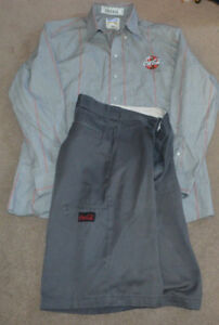 Coca Cola Employee Uniform L/S Shirt and Shorts Coke Costume