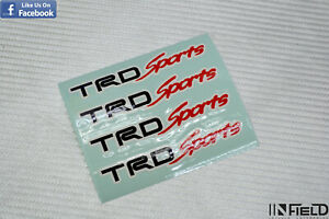 Japan Material Trd Sports Sportivo T3 High Quality Replacement Sticker r061