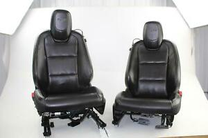 2010 Chevy Camaro Ss Front Seat Set Pair Rh Lh Leather Electric Left Right Oem