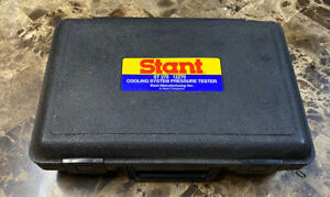 Beautiful Stant St270 12270 Cooling System Pressure Tester With Paperwork Usa