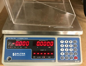 Salter Brecknell B130 Digital Counting Scale 30 Lb X 0 001 Lb