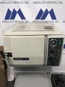 Tuttnauer 2540m Certified Steam Autoclave sterilizer 2 trays 6 Month Warranty