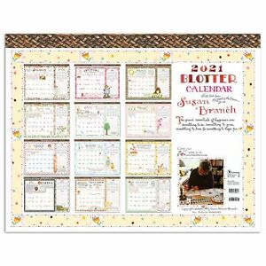 2021 Susan Branch Heart Of The Home Desk Pad Blotter Calendar 22x17