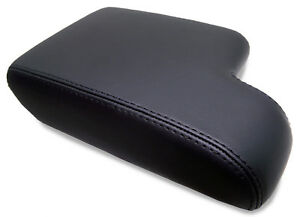 Fits 92 99 Bmw E36 325 328 318 Real Leather Center Console Armrest Cover Black