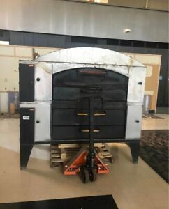 Bakers Pride Pizza Oven Double Deck gas