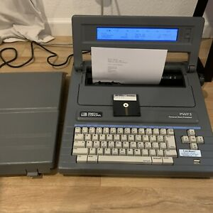 1988 Vintage Smith Corona Word Processor Typewriter Pwp3 Model 5d Data Disk