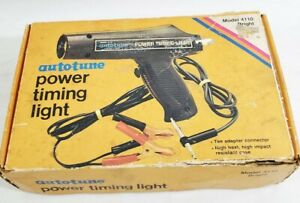 Vintage Power Auto Timing Light Model 4110 In Box With Manual