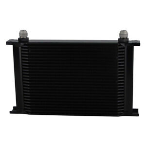 Universal An10 25 Row Engine Transmission 248mm Oil Cooler Mocal Style Black