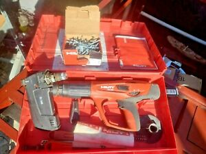 Hilti Dx 460 mx 72 Powder Actuated Extra Piston Cleaning Kit In Hilti Case