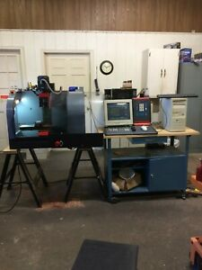 Emco Maier Pcmill 50 Cnc Milling Machine Complete System Ready To Make Parts